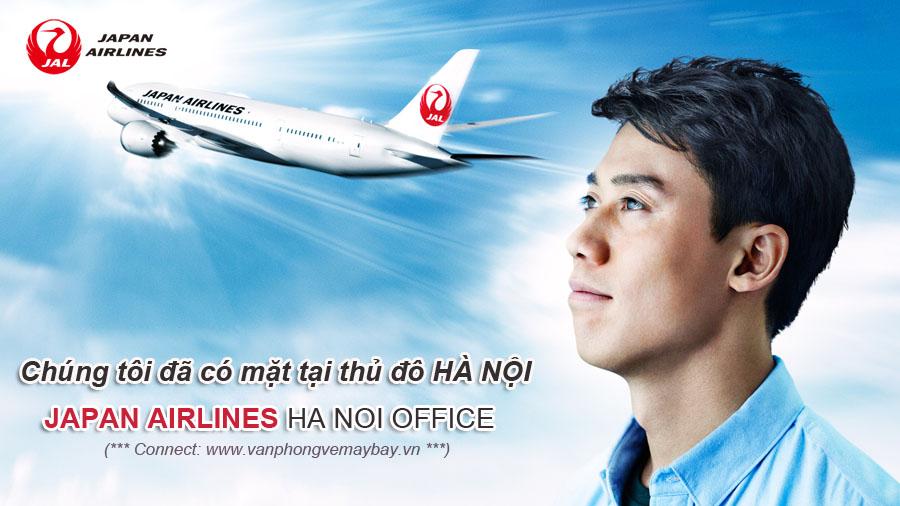 Văn phòng vé máy bay Japan Airlines tại Hà Nội