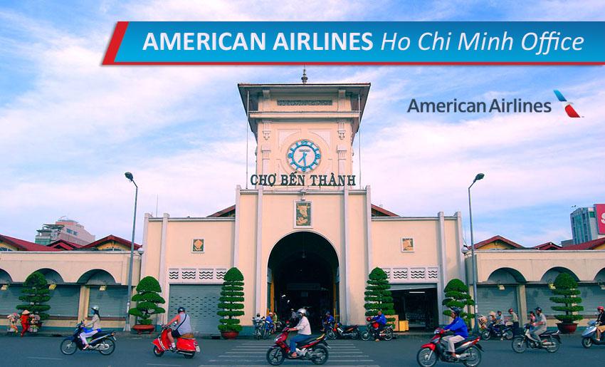 Văn phòng bán vé American Airlines tại TP HCM