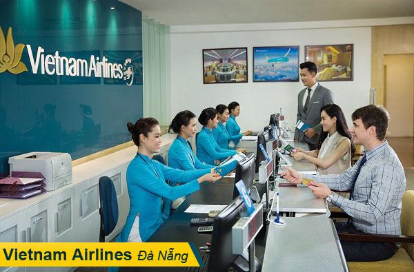 Van phong ve may bay Vietnam Airlines Da Nang