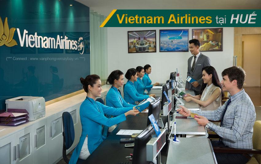 Văn phòng vé máy bay Vietnam Airlines tại Huế