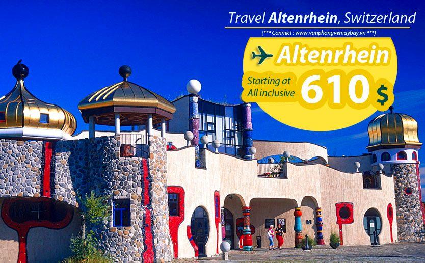 Đặt vé máy bay đi Altenrhein (Thụy Sĩ) giá rẻ