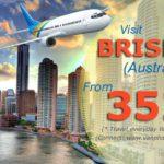 Vé đi Brisbane giá rẻ