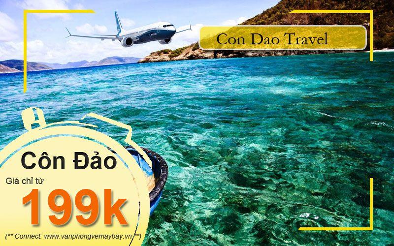 Vé máy bay đi Côn Đảo giá rẻ