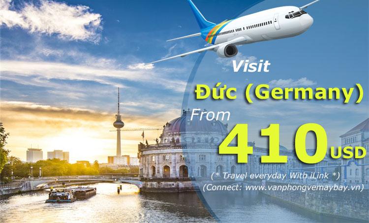 Vé máy bay đi Đức (Germany)