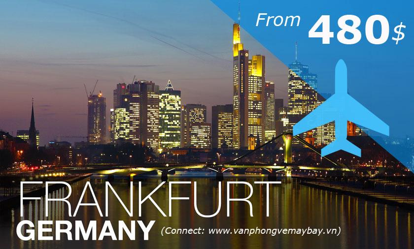 Vé máy bay đii Frankfurt giá rẻ