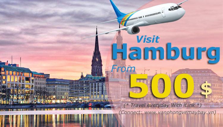 Vé máy bay đi Hamburg Germany