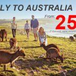 Vé máy bay đi Úc giá rẻ