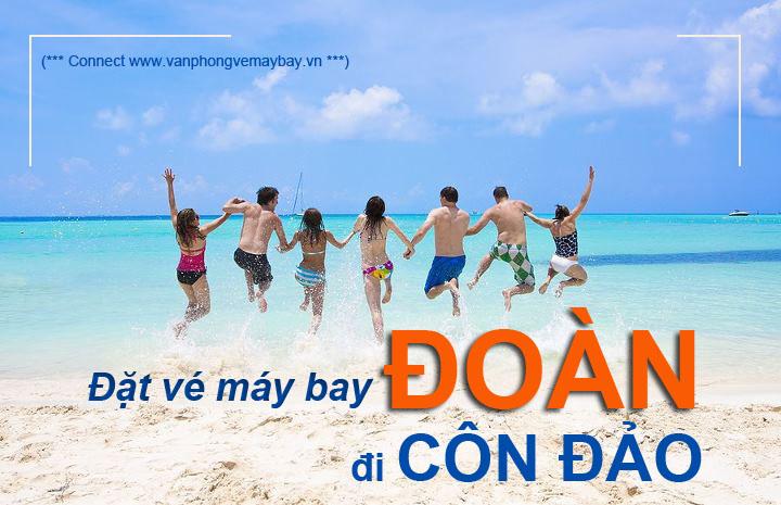 Đặt vé máy bay Đoàn đi Côn Đảo
