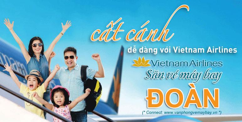 Vé đoàn Vietnam Airlines